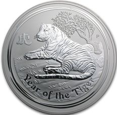 10 Ounce Year of the Tiger 2010 - Lunar II - Perth  Mint.