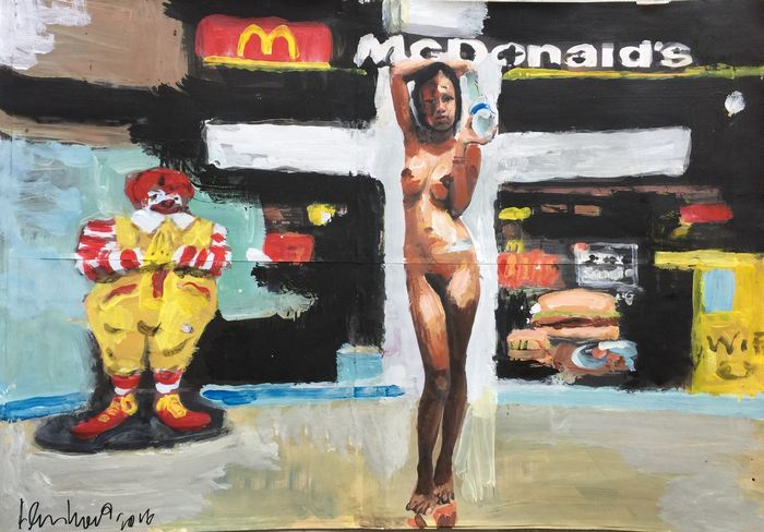 Peter Klashorst - Take me home to that McDonalds