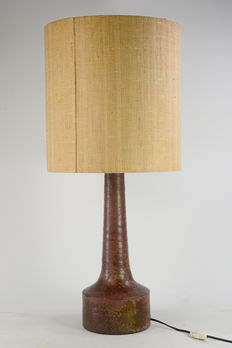 Mobach – Vintage mid-century modern lamp with ceramic base