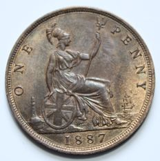 United Kingdom – Penny 1887 Victoria