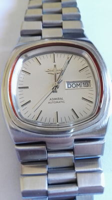 Longines Admiral – Automatic – Men's wristwatch – 1980s.