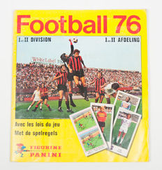 Panini - Football 76 - Complete album.