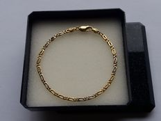 Bracelet 18 karat - 750/1000 yellow gold.