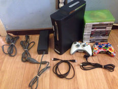 Microsoft Xbox 360 Pro 120gb with limited edition controller and 15 games - Forza, Call of duty, Gears of war, Battlefield, GTA and more!