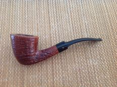 Stanwell great sandblasted briar pipe, 360 perfect ring grain, reg.no. 969-48, hand made, Denmark !!!