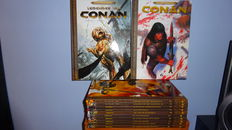 Conan - Heroïc Fantasy Collection 1 t/m 9 + Legendes van Conan 1 t/m 3  - 12x hc - 1e druk (2009/2011)