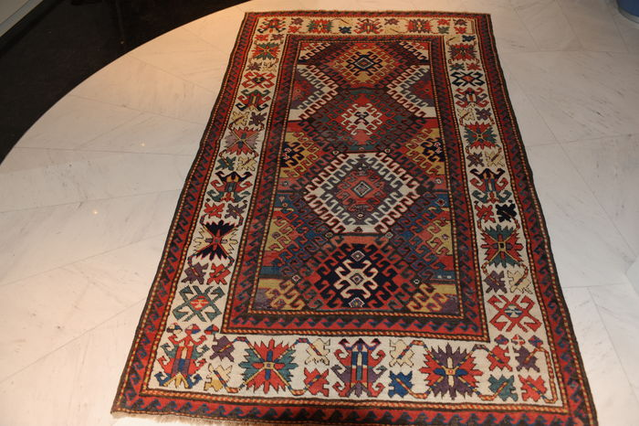 Kazakh – 19th century – antique piece – approx. 234 x 147 cm
