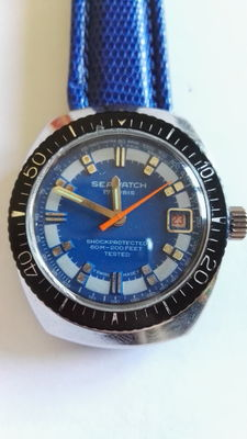 Seawatch Diver – NOS – Men's watch – 1970s