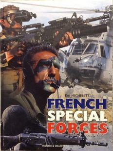 Militaria; Lot with 3 books about French army units - 1997/2002