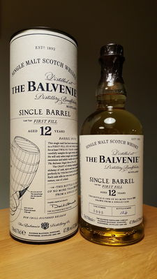 Balvenie single barrel 12 years old - single malt Scotch whisky