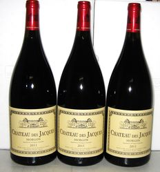 2011 Morgon Château des Jacques, Louis Jadot,  Lot 3 Magnums 1.5 L.
