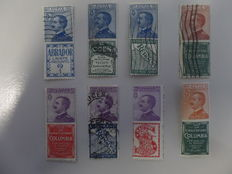 Kingdom of Italy 1924 stamps, small advertised selection