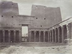 Unknown photographer - Egypt, the temples of Edfu, Kom Ombo and Gournah
