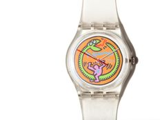 Keith Haring (after) - Swatch Serpent