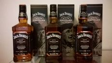 3 bottles - Jack Daniel's Master Distillers Series, 1x 'No. 2, Jess Motlow' & 2x 'No. 3, Lem Tolley'
