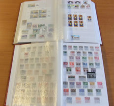 Austria 1863/2000 – Extensive collection in 2 stock books