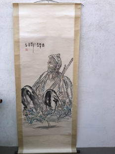 Chinese scroll drawing – China – Second half of 20th century