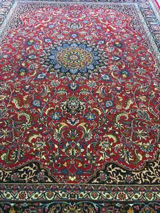 Magnificently hand-knotted Persian XL MASCHAD with vegetable colours - Approx. 290 x 387 - In great condition - Persia - Free shipment to Europe!