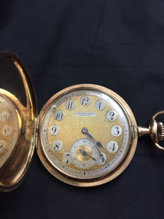 Audemars Freres Geneve pocket watch, approx .1900