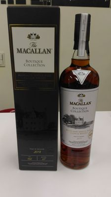 Macallan Boutique Collection 2016 Limited Edition Cask Strength - 1st Release for 1st ever Macallan Boutique