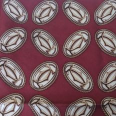 Cartier – 100% silk scarf