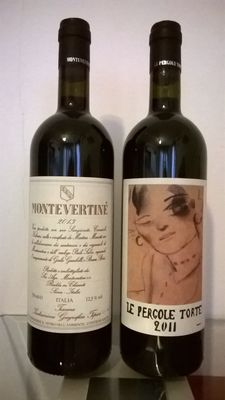 2013 Montevertine, Montevertine & 2011 Le Pergole Torte, Montevertine – 2 bottles in total