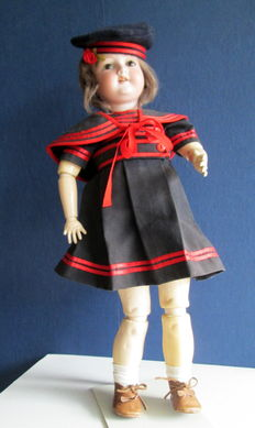 Doll with bisque head - Armand Marseille - Germany