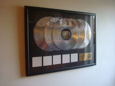 The Beatles - Apple Records 5x platinum In-house award - The White Album