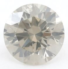 0.26 ct  Solitaire Natural Diamond - Round Brilliant