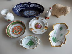 Collection of 7 items - porcelain