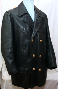 Leather jacket of the Navy - top condition