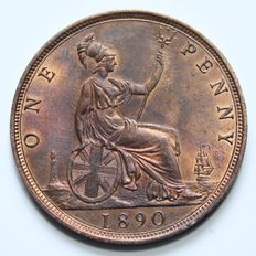 United Kingdom – Penny 1890 Victoria