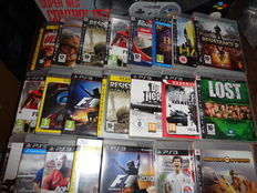 Lot of 22 Playstation 3 games o.a. Lost , killzone and battlefield