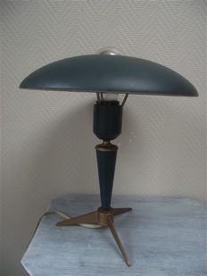 Louis Kalff for Philips, tripod lamp.