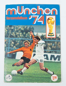 Variant Panini - Vanderhout - WC Munich 74 - Complete collection album.