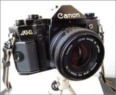 Canon . A1 - Canon FD 50 mm 1: 1.8 lens - excellent condition, from 1978
