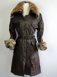Arma - coat - long model - belt