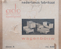Ko Verzuu for Ado – Wagon construction set, box A