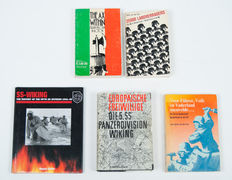 Fascism; Lot with 5 reference works about the SS and Italian fascism - 1967/2002