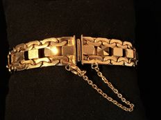 Vintage gold-plated women's bracelet, 1960s