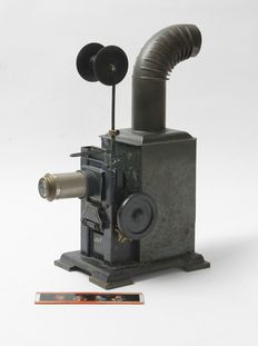Laterna Magica old slide projector company E.P. Germany