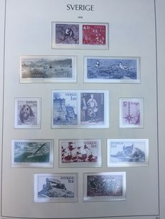 Sweden 1955/1988 – Collection including FDC