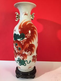 Porcelain vase – CHINA – Early 1900s