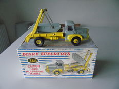Dinky Supertoys-France - Scale 1/48 - Truck  Unic Multibenne Marrel No.38a