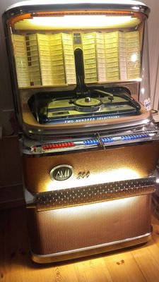 AMI H200 jukebox from 1957 with push buttons