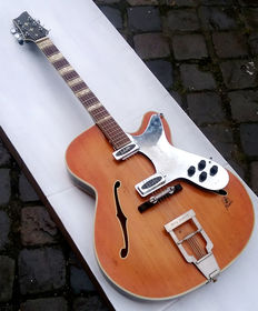 FRAMUS Bily Lorento - Electric Jazz thinline from the early 50s + Jumbo Gigbag