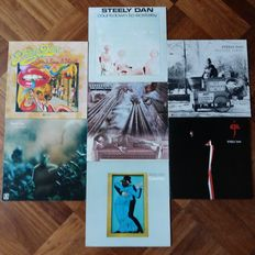 """First 7 Records of """"Steely Dan"""" ,  A Beautyful Collection!"""