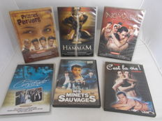 Collection; Lot with 6 porno films of Jean Daniël Cadinot - 21st century