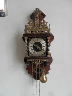 Lot of 3 Zaandam clocks - 2nd half of the 20th century