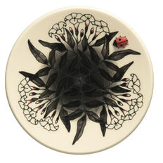 Sally Tuffin - Black Jasmine Roundel